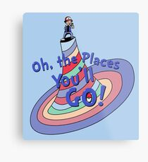 Oh, the Places You'll GO! Metal Print