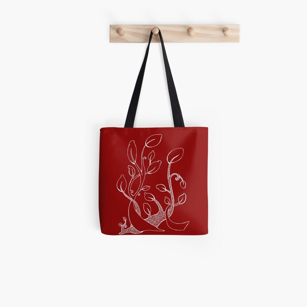 Spiral Plant Tote Bag