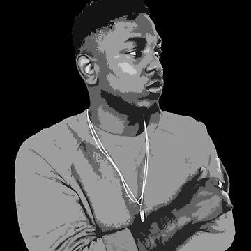 Kendrick Lamar by jonfrobinson