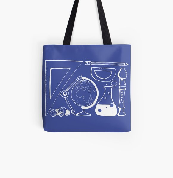 Back to school All Over Print Tote Bag