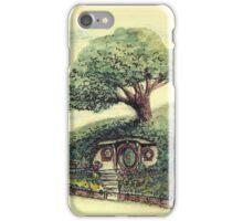 Bag End - A Hobbit's Home Underthehill. iPhone Case/Skin