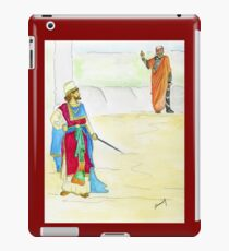 King Ahab and the Prophet iPad Case/Skin