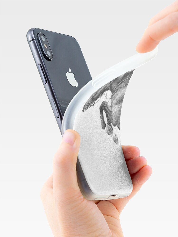 Alternate view of Flick - Showjumping Horse iPhone Case & Cover