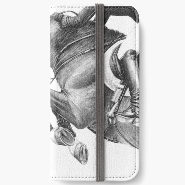 Flick - Showjumping Horse iPhone Wallet