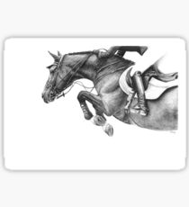 Flick - Showjumping Horse Sticker