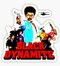 Black Dynamite Sticker