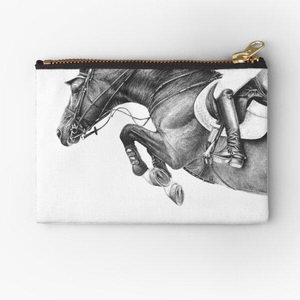 Flick - Showjumping Horse Zipper Pouch