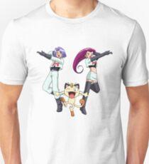Camiseta unisex Equipo Rocket