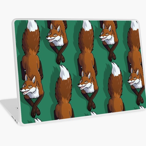 Fox Sitting Laptop Skin