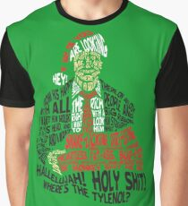 Holy Shit! Where's the Tylenol? X-Mas Graphic T-Shirt