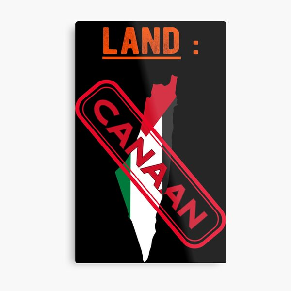 It's the land of arabe ,we are all brave to the arabe and muslumning men Metal Print