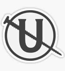 Holtzmann Screw U Necklace Ghostbusters Sticker