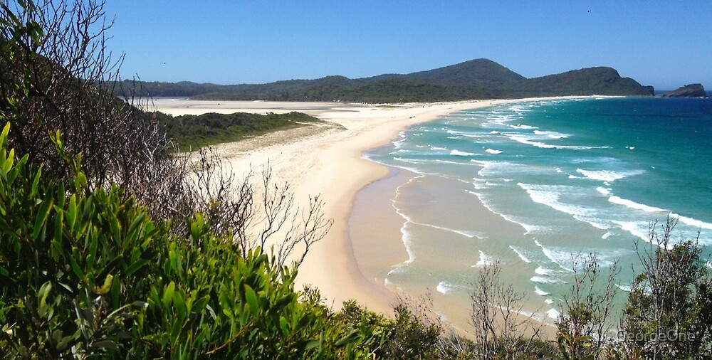 Cellito Beach, Smiths Lake NSW by GeorgeOne
