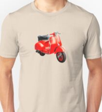 Vintage Vespa Scooter italy Unisex T-Shirt