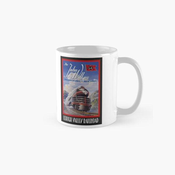 Lehigh Valley Railroad Poster Classic Mug