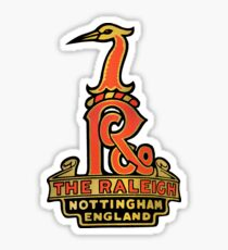 Raleigh Vintage Bicycles England Sticker