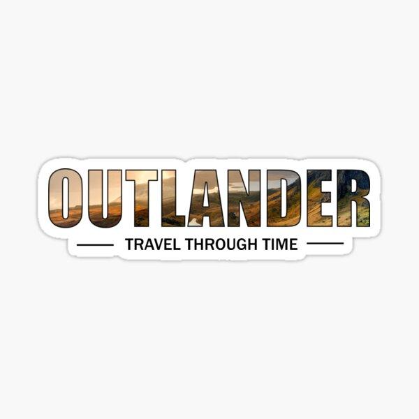 OUTLANDER - Travel Through time  Sticker