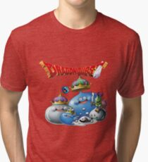 Dragon Quest - slime Tri-blend T-Shirt