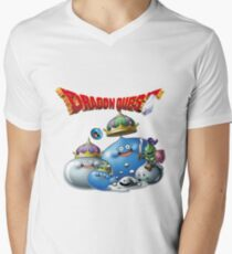 Dragon Quest - slime Men's V-Neck T-Shirt