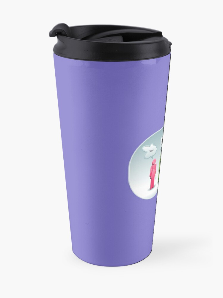 Alternate view of I Cleaned 12 Toilets Toilet Cleaning Bragging Rights Cleaning Lady Gifts Travel Mug