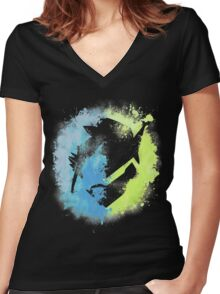 Brothers Women's Fitted V-Neck T-Shirt
