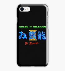 DOUBLE DRAGON II - NES CLASSIC iPhone Case/Skin