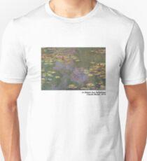 Le Bassin Aux Nymphéas Slim Fit T-Shirt