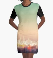 Welcome to London Graphic T-Shirt Dress