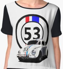 HERBIE 53 - THE LOVE BUG  Women's Chiffon Top