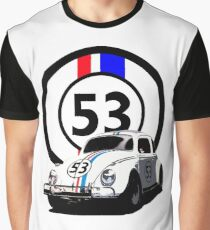 HERBIE 53 - THE LOVE BUG  Graphic T-Shirt