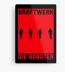 KRAFTWERK / Die Roboter Metal Print