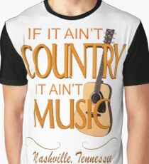 Nashville Country Music  Graphic T-Shirt
