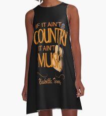 Nashville Country Music  A-Line Dress