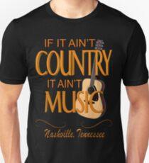 Nashville Country Music  Unisex T-Shirt