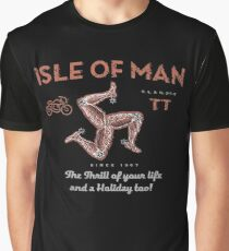 Isle of Man TT race UK Graphic T-Shirt