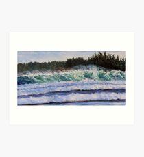 Sea and Sun Cox Bay Tofino BC Art Print