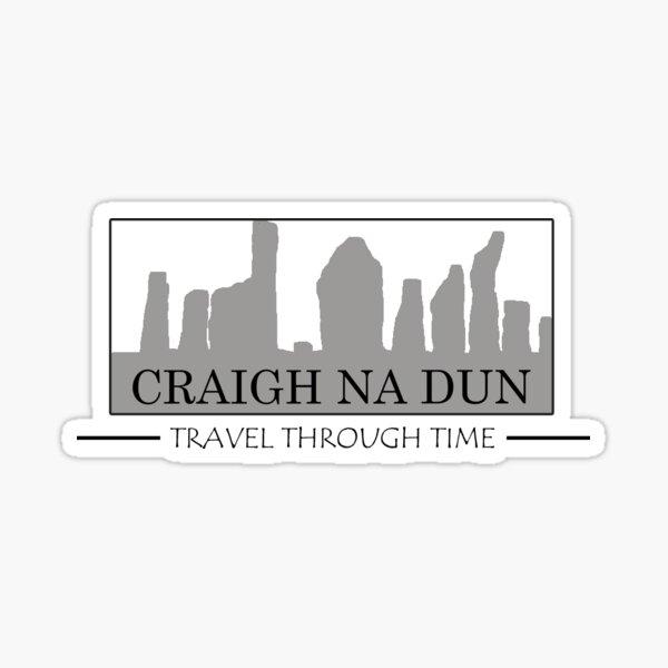 Outlander, Craigh Na Dun, Travel through Time Sticker