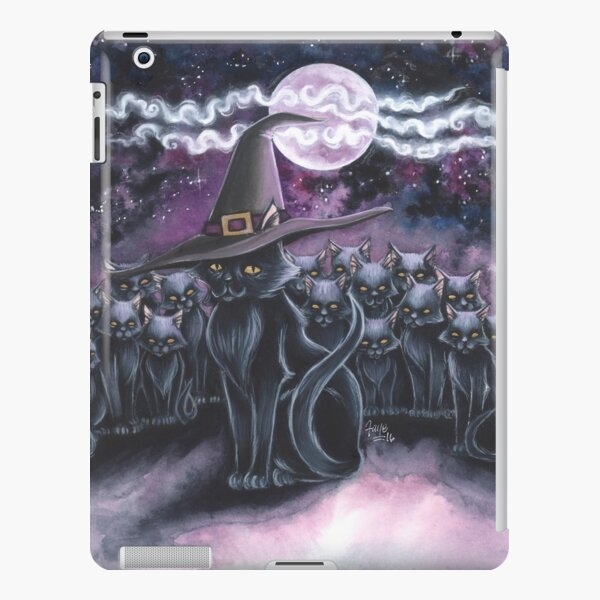 Black Cats at the Witching Hour iPad Snap Case