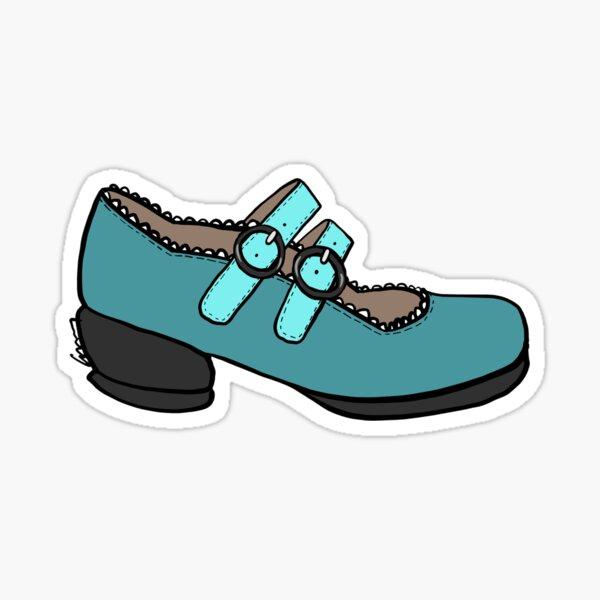 Fluevog Margie Mary Jane Shoe Sticker