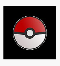 Pokemon Pokeball Photographic Print