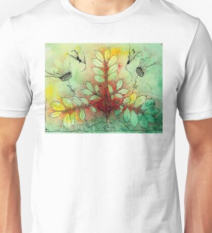 Funky Leaf Beats T-Shirt