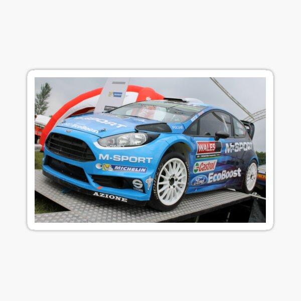 Ford Fiesta ST WRC Sticker