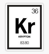 Krypton Sticker