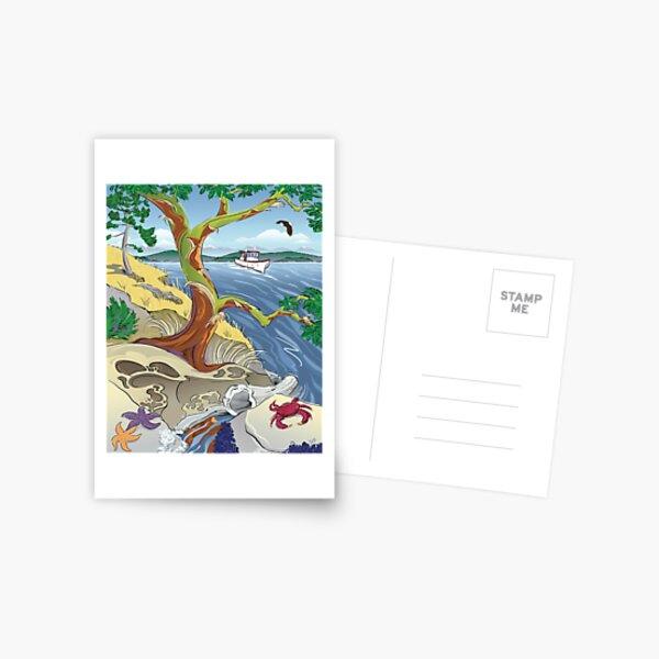Sunny Outlook Postcard