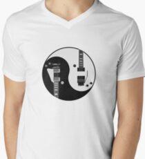 Yin Yang - Guitars Mens V-Neck T-Shirt