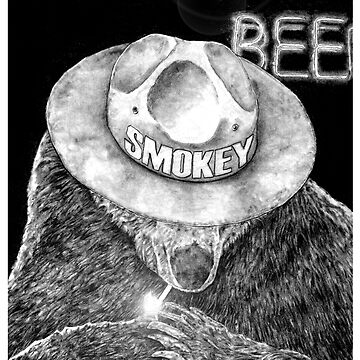 Smokey The Bear by walterdoe