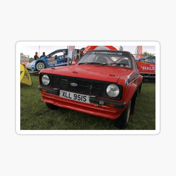 Ford Escort MK2 RS Rally Sticker