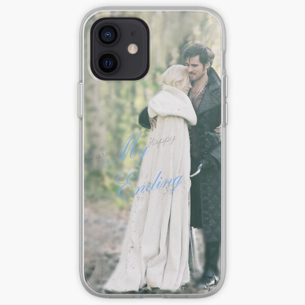 Emma Swan and Captain Hook iPhone Soft Case