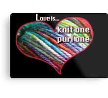 Quot Love Is Knitting Quot Tote Bags By Trish Peach Redbubble