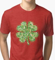 Irish Blessing: May the Road Rise Up to Meet You Tri-blend T-Shirt